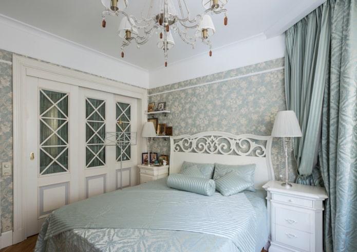 двери для шкафа в спальне в стиле прованс