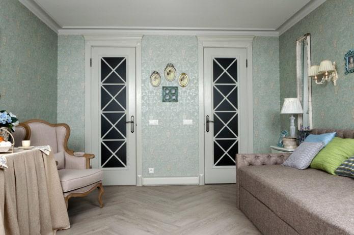 Двери в стиле прованс: 40 фото в интерьере, красивые идеи оформления