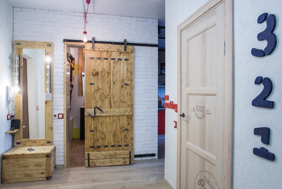 двери в стиле лофт 60 фото в интерьере дизайнерские идеи