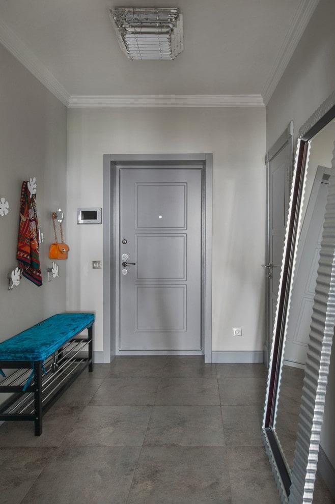 Серые двери в интерьере квартиры: 60 фото, дизайнерские идеи оформления