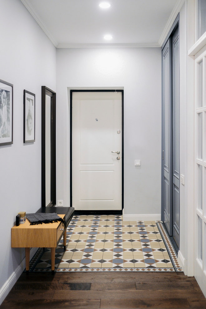 оказалось, фото квартир с белой входной дверью конструктор пистолета