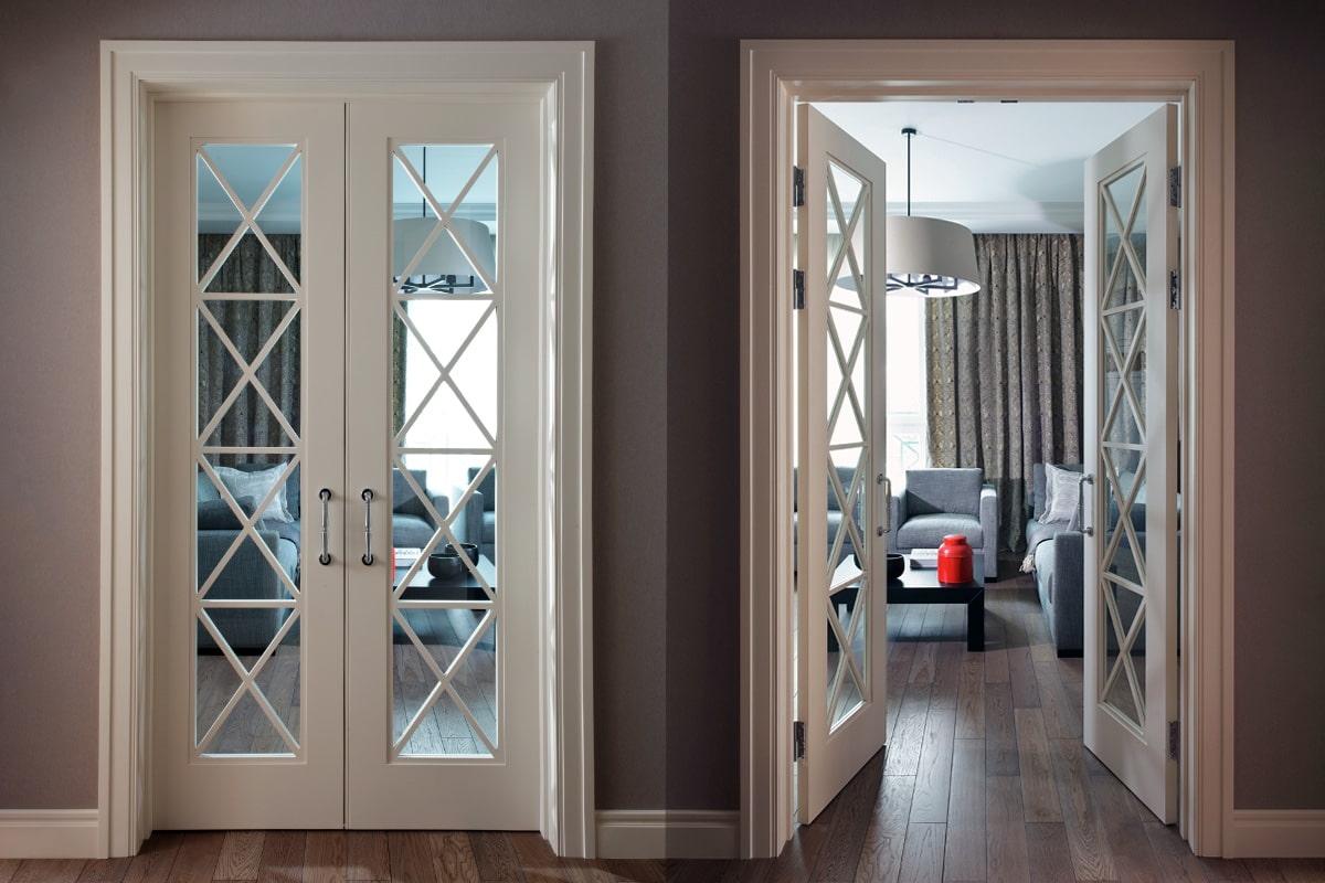двойные межкомнатные двери размеры