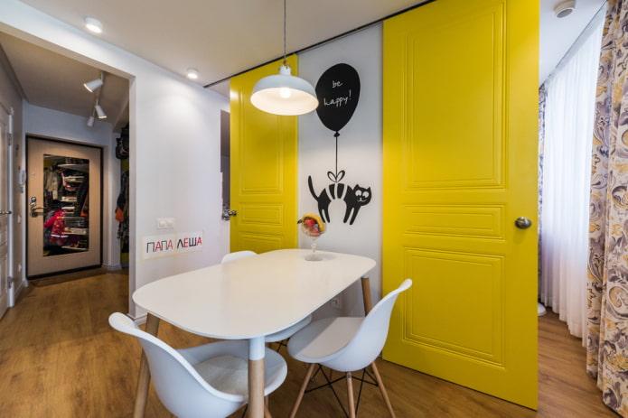 Как выбрать цвет межкомнатных дверей: фото в интерьере, популярные расцветки