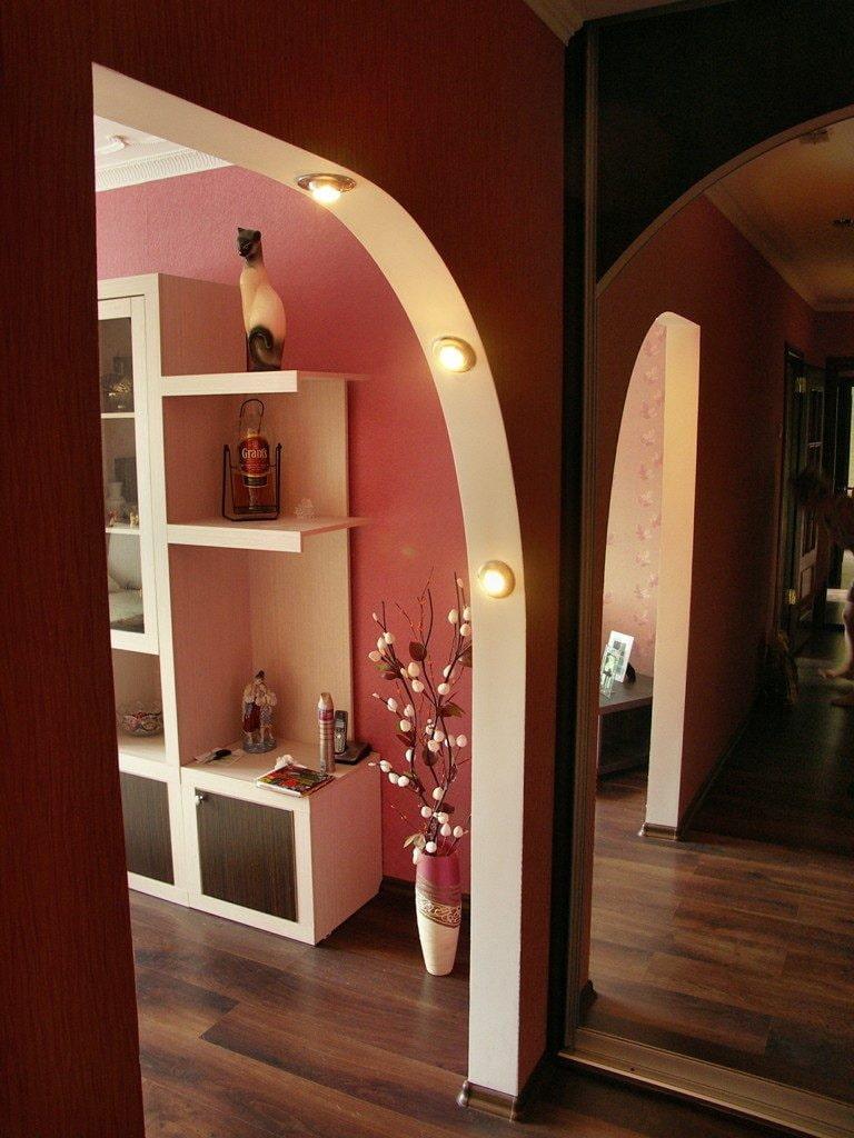 такие арки из гипсокартона в прихожей фото дизайн кованые кровати, цене