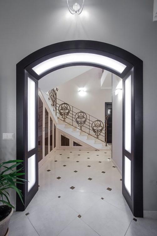 получасовом перерыве арка с подсветкой из гипсокартона фото автодиски известных мировых