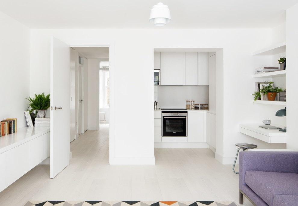 кухня ниша в квартире студии фото потяните свободные нити