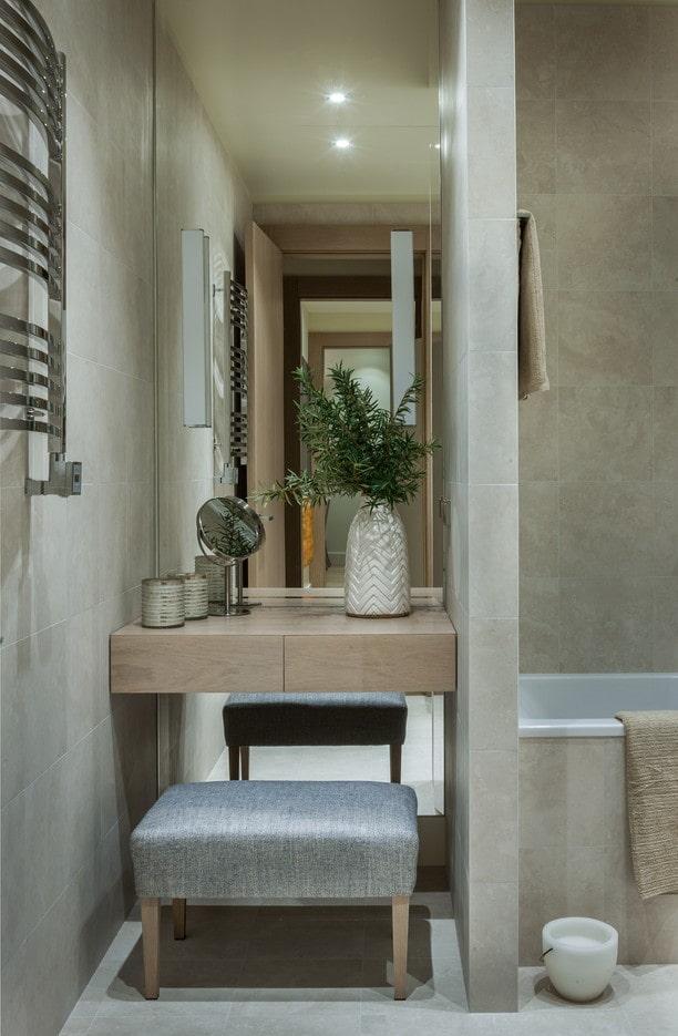 Туалетный столик: 100 фото в интерьере, дизайнерские идеи оформления