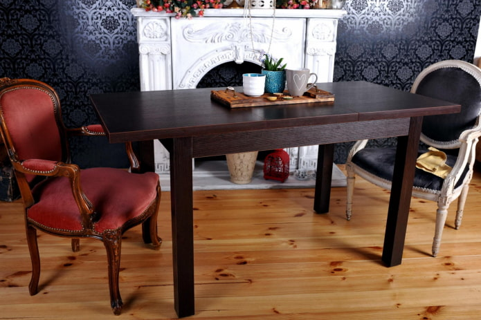 Деревянные столы: 100 фото, примеры в кухне, детской, гостиной, кабинете