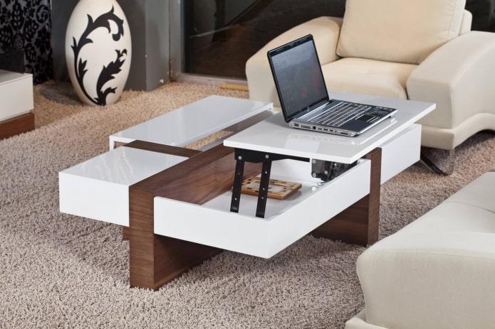 журнальный стол-трансформер