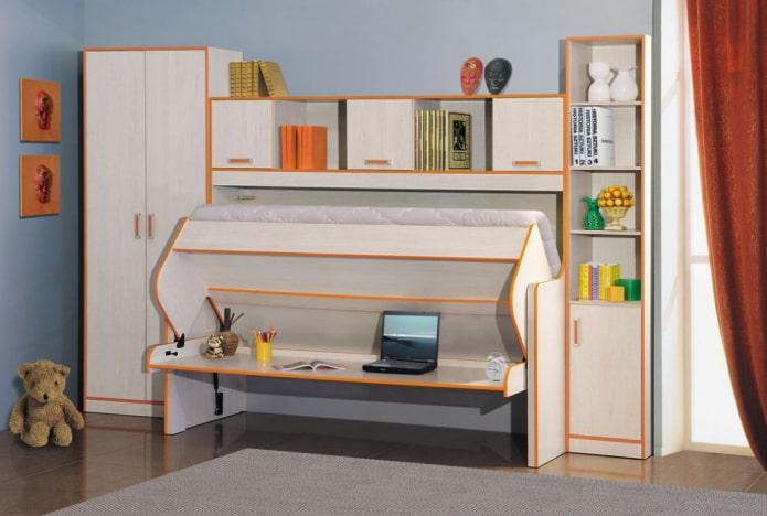 Стол-трансформер: фото, виды, материалы, цветовая гамма, варианты форм, дизайн