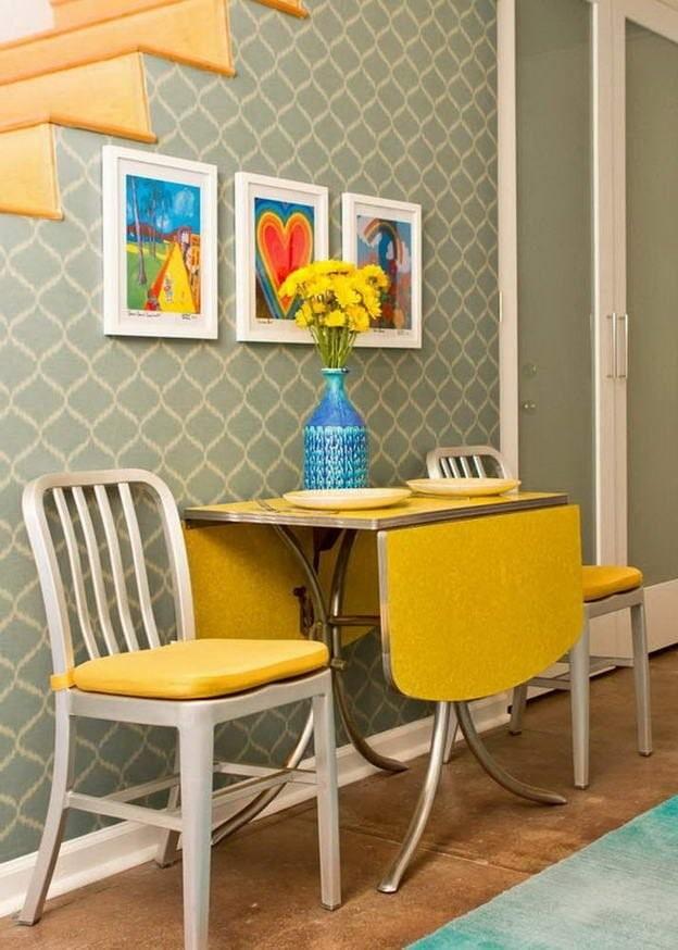 Стол-книжка: 60 фото в интерьере, современные идеи для гостиной, кухни, детской