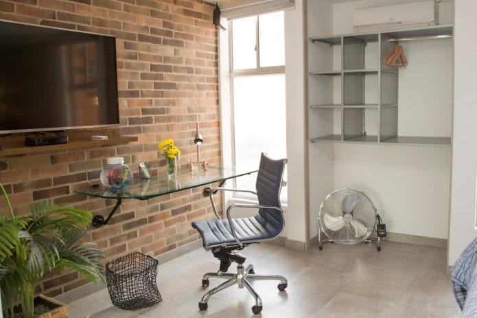 Письменный стол: 90 фото в интерьере, идеи для детской, кабинета, спальни, гостиной