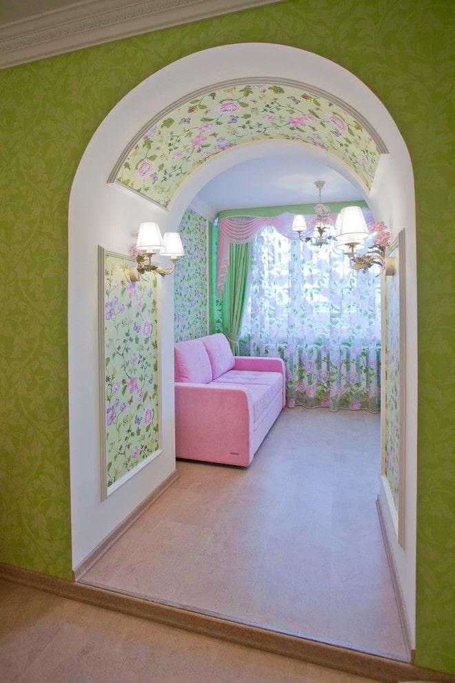 Дверной проем без двери: 40 фото в интерьере, красивые идеи оформления