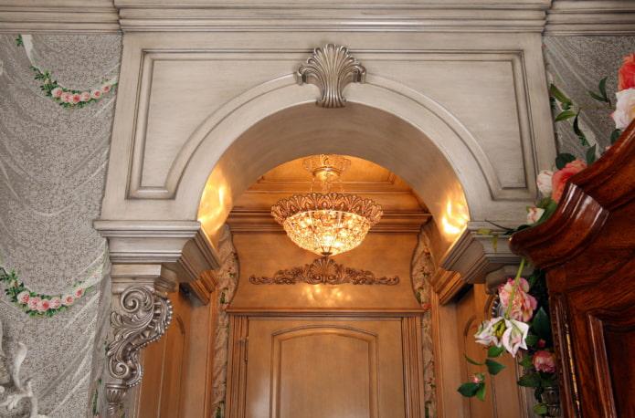 винтажный декор арки