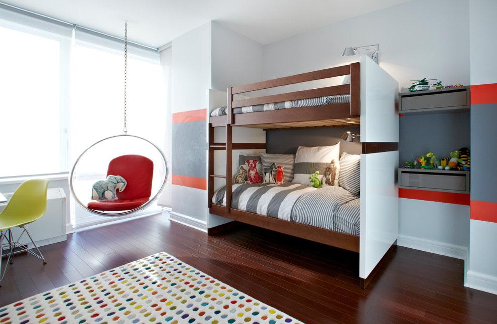 30 стильных двухъярусных кроватей для детской комнаты | | 646x990