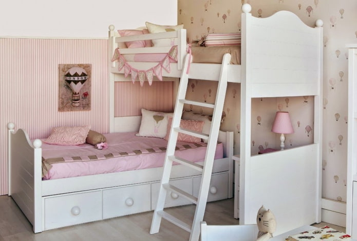 Детские двухъярусные кровати: 50 фото, идеи для девочек, мальчиков, разнополых детей