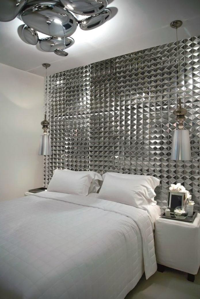 мозаика в спальне