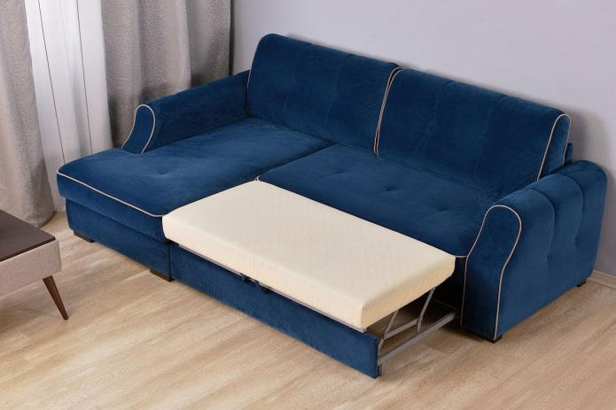 Синий диван в интерьере: 70 фото, идеи для гостиной, кухни, детской, кабинета