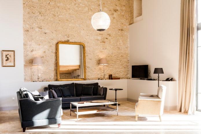 Черный диван в интерьере: 50 фото, примеры в гостиной, кухне, детской