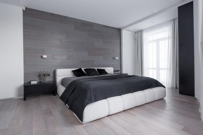 кровать кинг-сайз в интерьере