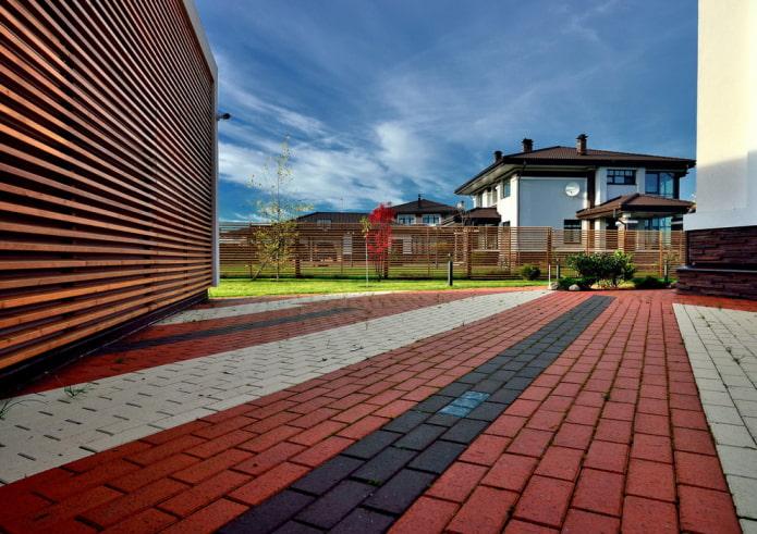 Тротуарная плитка в интерьере