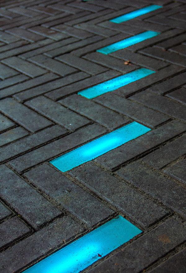 дизайн уличной плитки для тротуара