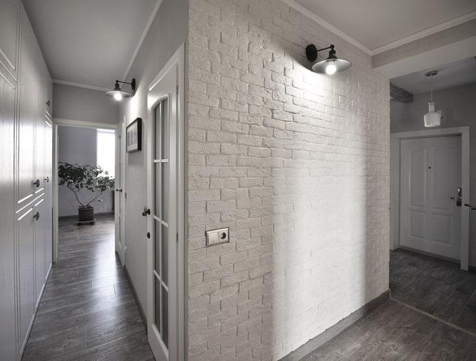 Гипсовая плитка в интерьере: 50 фото, современные идеи для внутренней отделки
