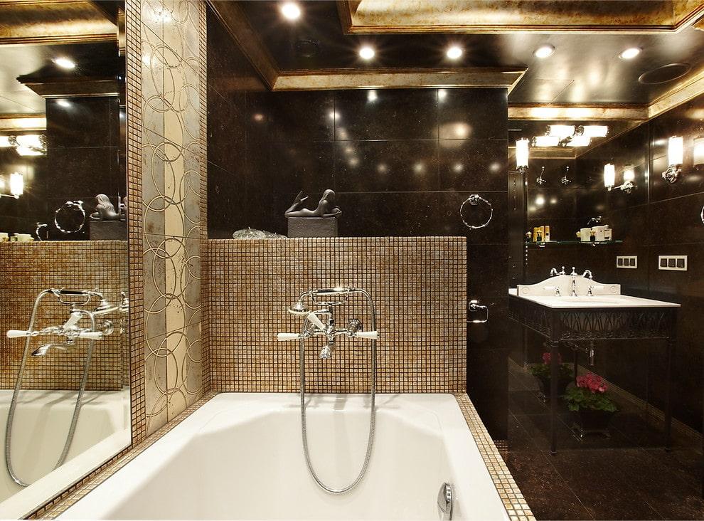 Преимущества облицовки ванной комнаты плиткой