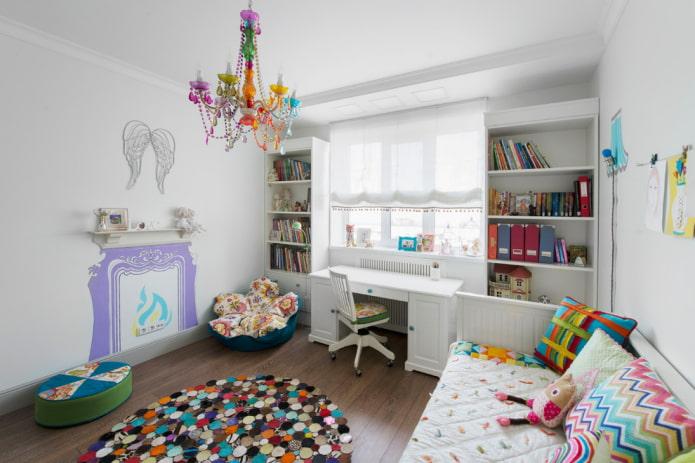 Шкаф в детскую комнату: виды, материалы, цвет, дизайн, расположение, примеры в интерьере