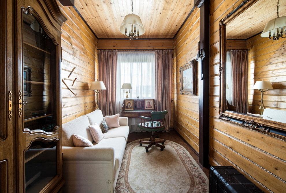 мелкие отделка комнаты вагонкой дизайн фото стреляют резиновыми пулями
