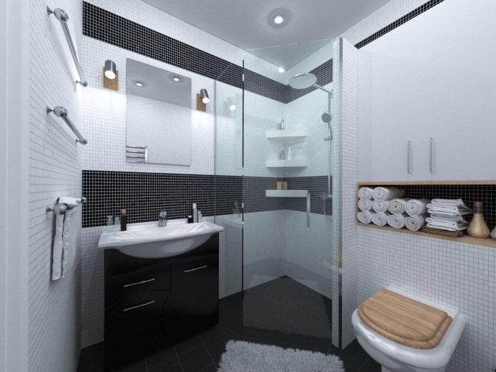 интерьер санузла в квартире 50 квадратов