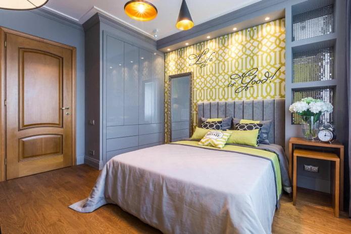 интерьер спальни в квартире 50 квадратов