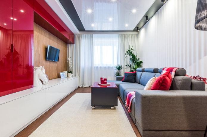 интерьер квартиры 50 квадратов в современном стиле