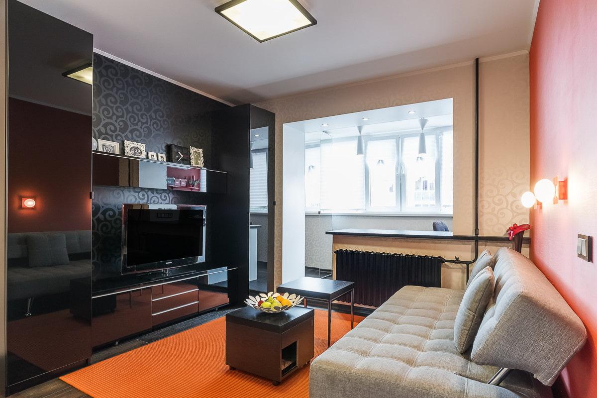 оформление однокомнатной квартиры в картинках когда-нибудь были