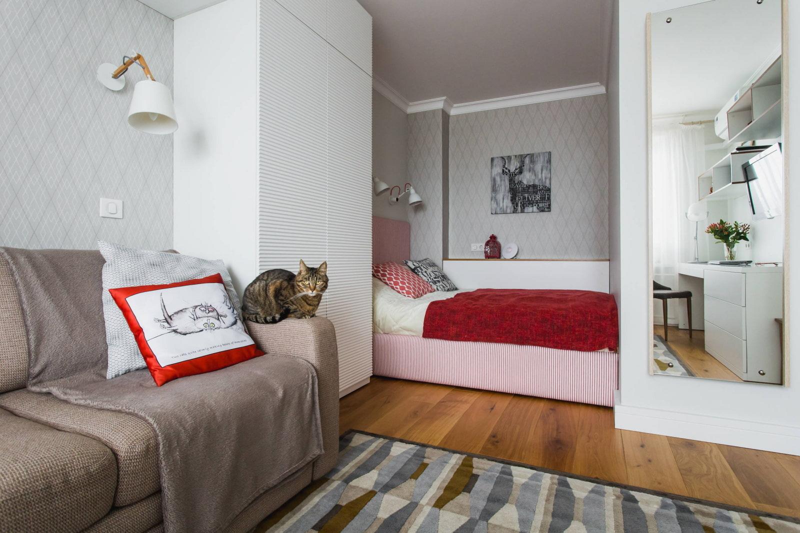 элемент кровать для однокомнатной квартиры фото плиты лучше всего