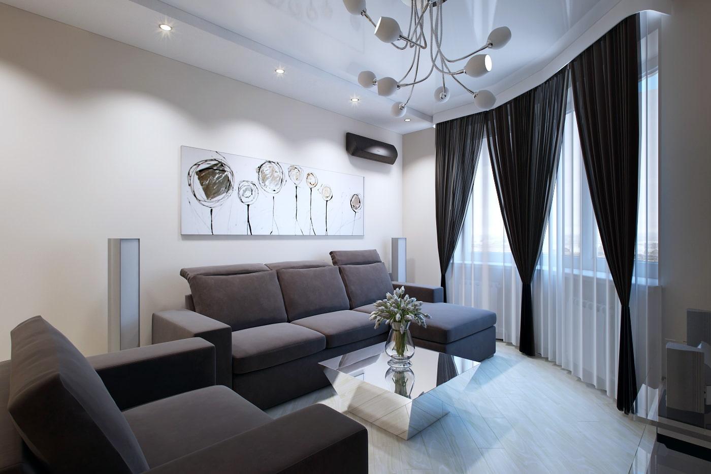 Фото ремонта квартир в панельных домах з комнатная