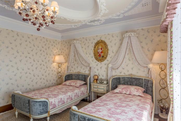 Детская комната для двух девочек: 70 фото, идеи дизайна