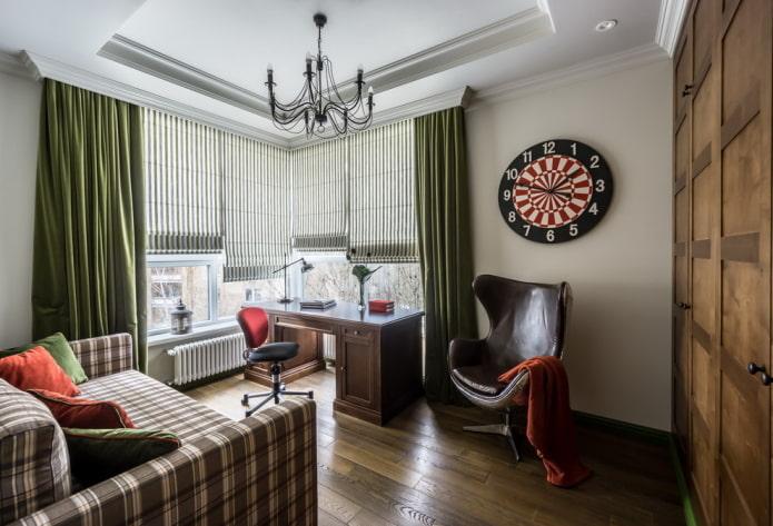 текстильное оформление спальни для мальчика подростка