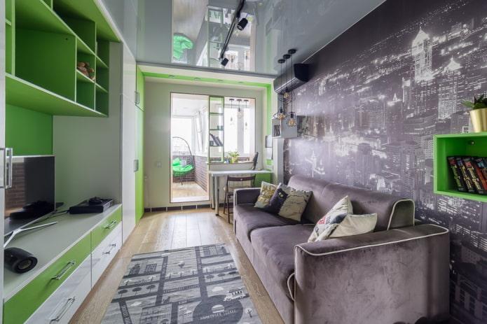 расстановка мебели в спальне для мальчика подростка