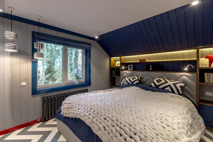 отделка спальни для мальчика подростка