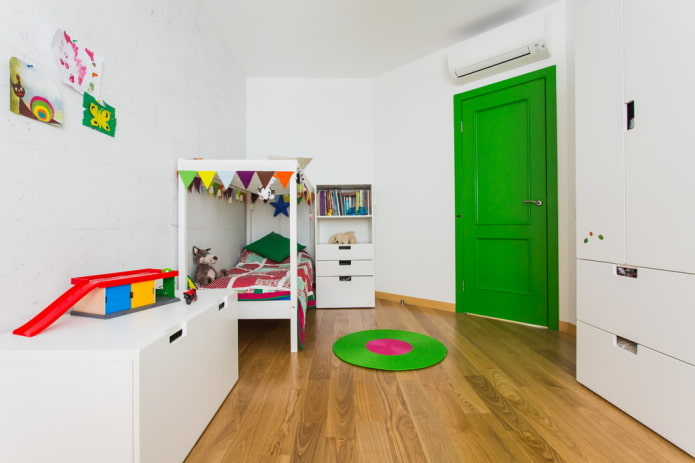 Белая детская комната: 40 фото в интерьере, идеи дизайна