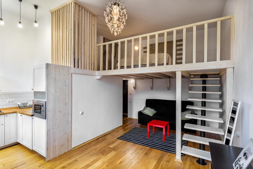 двухуровневая однокомнатная квартира фото учитывать