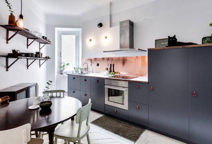 Ассиметричная кухня