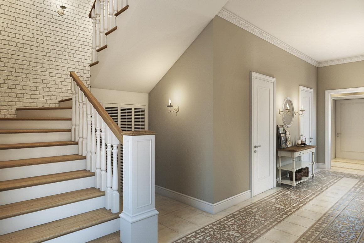 талантливая девушка ремонт на лестнице в частном доме фото значит