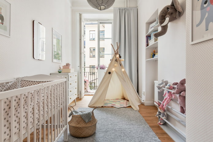 Детская комната в скандинавском стиле: 50 фото в интерьере