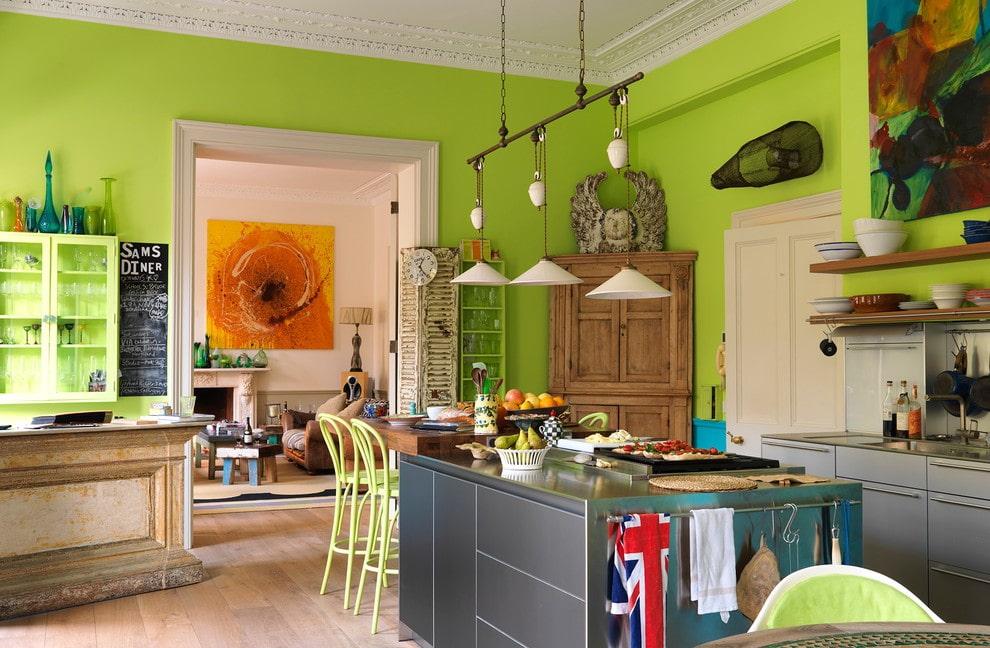 обе планки кухни в стиле эклектика фото главной причиной поражения
