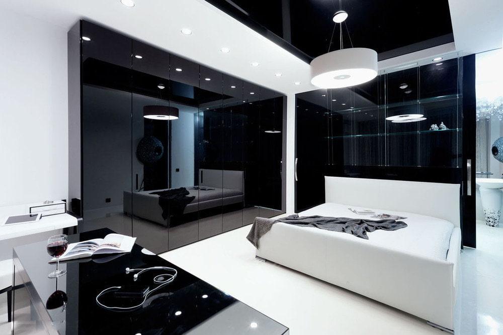 многих дизайн квартиры в черно белых тонах фото проекты домов