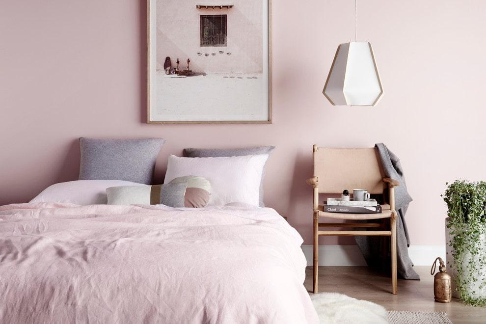 Интерьер спальни в пастельных тонах: особенности, фото | 660x990