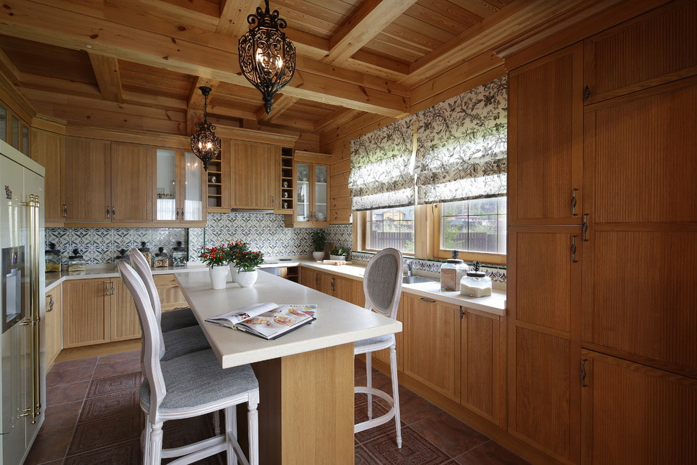 Как красиво украсить кухню своими руками фото морях