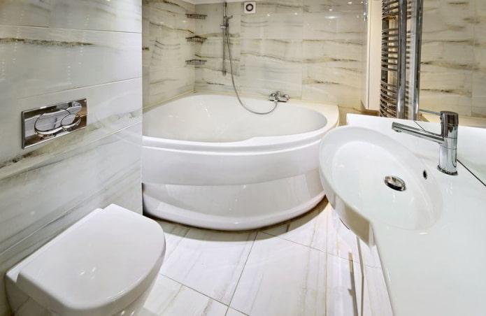 Компактная ванная